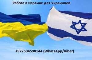 Работа. Работа в Израиле для Украинцев. - изображение 1