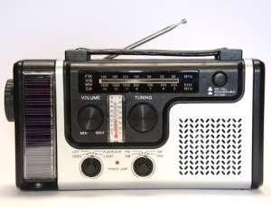 Радиоприемник на солнечной батарее, с ручным генератором - изображение 1