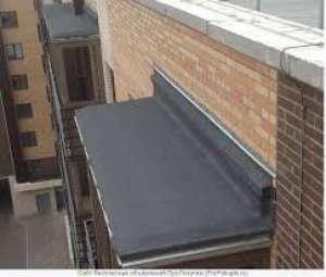 Ремонт балконных козырьков, кровельные работы - изображение 1