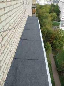 Ремонт Кровли Балкона и Козырька Балкона - изображение 1