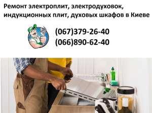Ремонт электроплит, электродуховок, индукционных плит, духовых шкафов - изображение 1