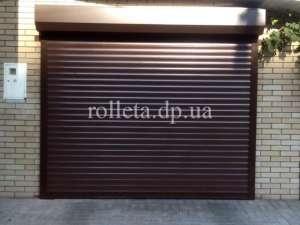 Роллетные ворота Днепропетровск тканевые роллеты рольставни защитные роллеты фотопечать на ролшторах - изображение 1