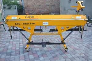 Ручной листогибочный станок Sorex польского производства - изображение 1