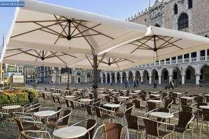 Садовые зонты, зонты для летней площадки - изображение 1