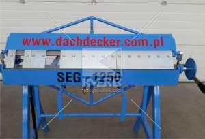 Сегментный листогиб польской марки Dachdecker (Decker) SEG 1250 - изображение 1