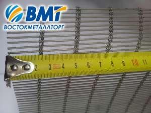 Сетка конвейерная нержавеющая тросиковая 24/2. - изображение 1