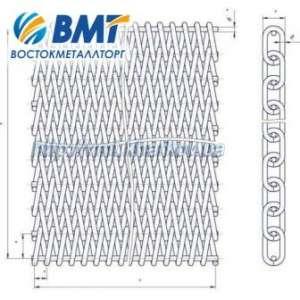 Сетка (лента) транспортерная металлическая от европейских производителей. - изображение 1