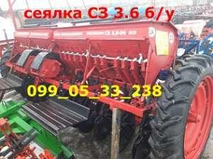 сеялка СЗ 3.6 бу продажа СЗ Днепр бу зерновая на фото - изображение 1