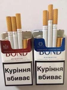 Сигареты Bond (330$) оптовые цены - изображение 1
