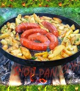 Сковорода з диска борони - изображение 1