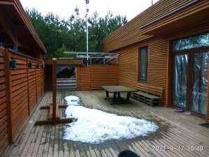 Современный дом с плоской кровлей 90м2. Ясногородка, Житомирская трасса, 28км - изображение 1