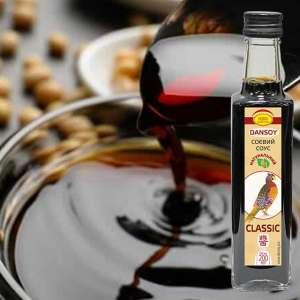 Соевый соус DanSoy Classic, стекло 200 мл - изображение 1