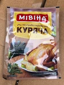 Специи Мивина куриная по самой лучшей цене - изображение 1