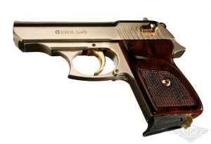 Стартовый пистолет ekol lady (сатин,позолота) - изображение 1