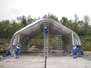 Строительство арочных быстровозводимых разборных ангаров - изображение 1