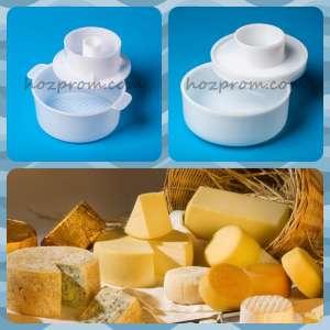 Сырная форма с поршнем Домашний козий сыр Как приготовить твердый сыр - изображение 1