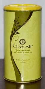 Травяная маска для волос на основе хны Chandi - изображение 1