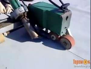 Укладка ПВХ мембраны. Монтаж и ремонт мембранных крыш. - изображение 1