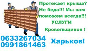 Услуги кровельщиков 0633267034 - изображение 1