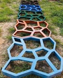 Форма для садовой дорожки Запорожье Садовая дорожка из бетона в Запорожье - изображение 1