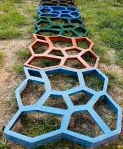Форма для садової доріжки Вінниця. Садова доріжка з бетону у Вінниці - изображение 1