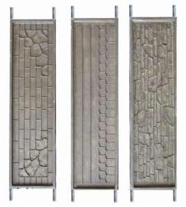 Формы для еврозаборов и заборов из бетона. - изображение 1