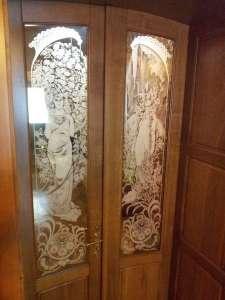 Художественное матирование стекла и зеркал - изображение 1