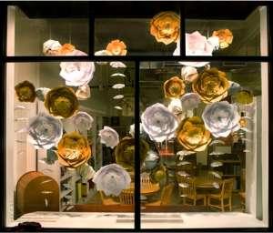 Цветы из бумаги для украшения свадьбы,праздника,витрины,салона,бутика - изображение 1