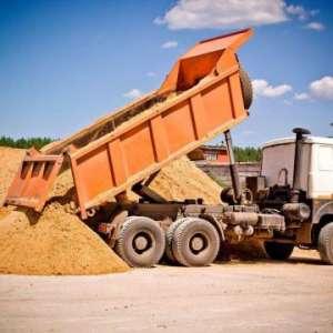 Шлак, граншлак, песок, отсев, щебень, камень бутовый, кирпич новый и бу, уголь антрацит и пламенны - изображение 1