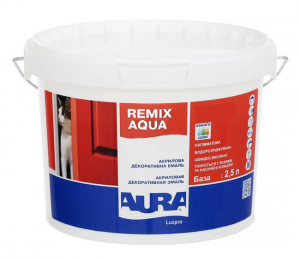 Эмаль Aura Luxpro Remix Aqua 30 (Акционная цена!) - изображение 1