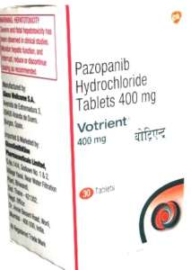 Votrient (Вотриент, Пазопаниб, Рazopanib) при лечении онкологии почки. - изображение 1